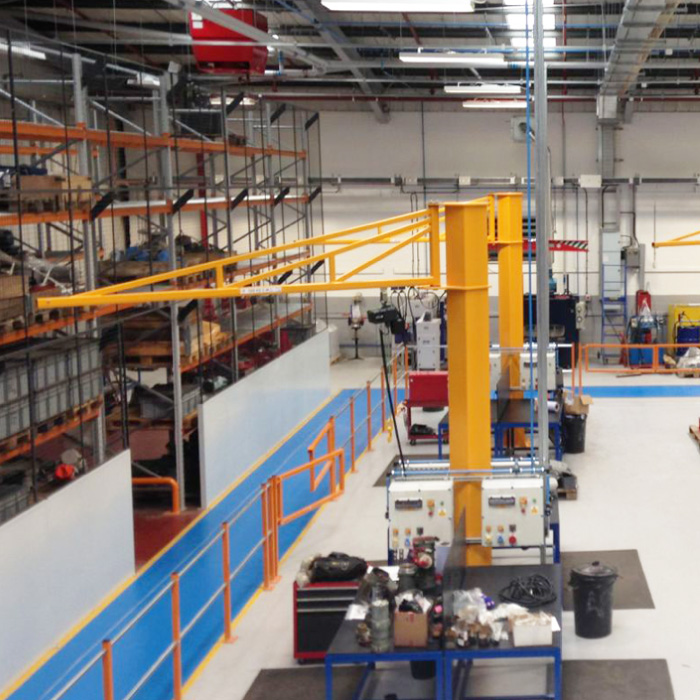 Jib Cranes For Loads Up To 1 000kg In A Variety Of Types